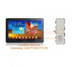 Cambiar Bateria Samsung Tab P7500 P7510 - Imagen 1