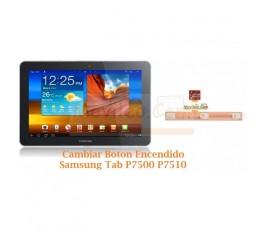 Cambiar Boton Encendido Samsung Tab P7500 P7510 - Imagen 1