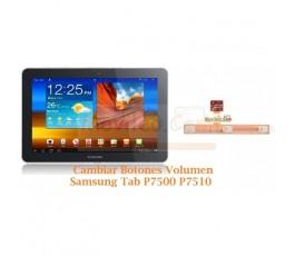 Cambiar Botones Volumen Samsung Tab P7500 P7510 - Imagen 1