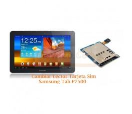 Cambiar Lector Tarjeta Sim Samsung Tab P7500 - Imagen 1