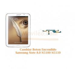 Cambiar Boton Encendido Samsung Note 8.0 N5100 N5110 - Imagen 1