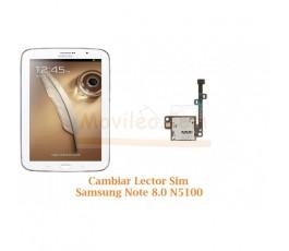 Cambiar Lector Tarjeta Sim Samsung Note 8.0 N5100 - Imagen 1