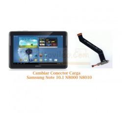 Cambiar Conector Carga Samsung Note 10.1 N8000 N8010 - Imagen 1