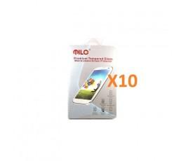 Pack 10 Protectores Cristal Templado Milo de 2.5D para Bq X5 - Imagen 1