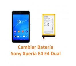 Cambiar batería Sony Xperia E4 - Imagen 1