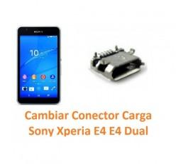 Cambiar conector carga Sony Xperia E4 - Imagen 1