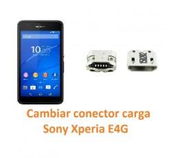 Cambiar conector carga Sony Xperia E4G - Imagen 1