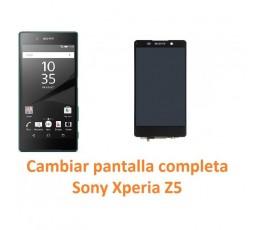Cambiar pantalla completa táctil y lcd Sony Xperia Z5 - Imagen 1