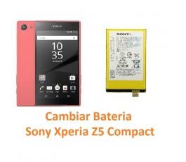 Cambiar batería Sony Xperia Z5 Compact - Imagen 1