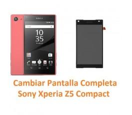Cambiar pantalla completa táctil y lcd Sony Xperia Z5 Compact - Imagen 1