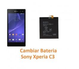 Cambiar batería Sony Xperia C3 - Imagen 1