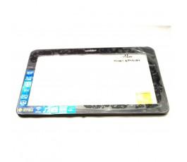 Pantalla Táctil con marco para Wolder MiTab Epsilon Referencia Flex ZP9105-101 FPC VER.01 - Imagen 1