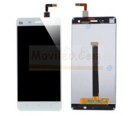 Pantalla completa táctil y lcd para Xiaomi Mi4 Blanco
