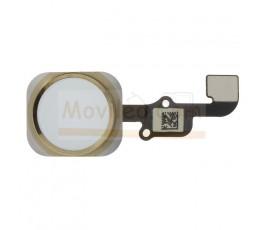 Flex botón home para iPhone 6s 6s Plus Dorado - Imagen 1