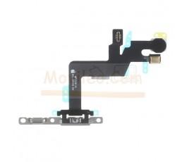 Flex encendido micrófono y flash para iPhone 6S Plus con chapa - Imagen 1