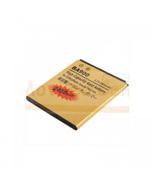 Bateria Gold de 2450mAh para Sony Xperia J T TX GX LT29 ST26 L BA900 - Imagen 1