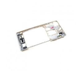 Carcasa Intermedia Con Cristal de Cámara y Botones para Sony Xperia J St26 - Imagen 3