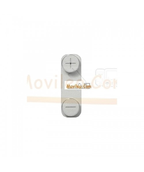 Botón Volumen Blanco para iPhone 5 - Imagen 1