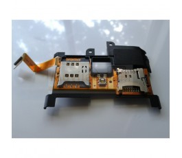 Flex Lector Sim Lector Micro Sd y Modulo Altavoz para Sony Xperia X10 - Imagen 1