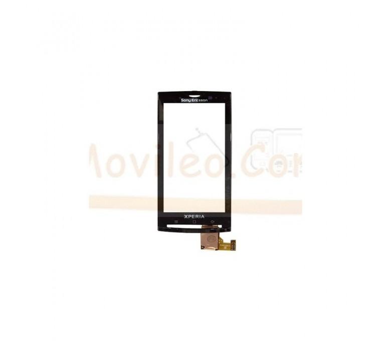 Pantalla Tactil Digitalizador Original con Marco Negro para Sony Xperia X10 - Imagen 1