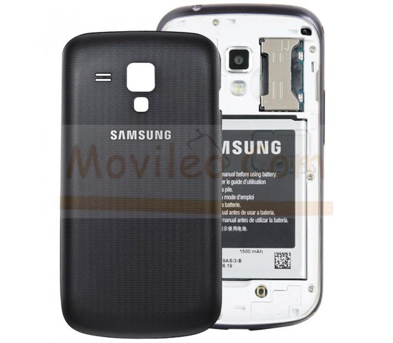 Tapa Trasera Negra Samsung Galaxy Trend S7560 - Imagen 1