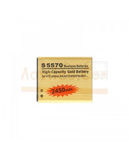 Bateria Gold de 2450mAh para Samsung Glaxy Mini s5570 s5570i - Imagen 1