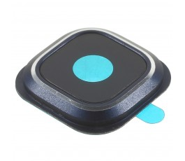 Embellecedor y cristal cámara Samsung Galaxy S6 Edge Plus G928 azul