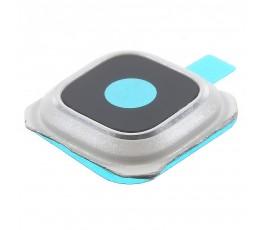 Embellecedor y cristal cámara Samsung Galaxy S6 Edge Plus G928 Blanco