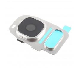 Embellecedor y cristal cámara Samsung S7 G930 S7 Edge G935 plata
