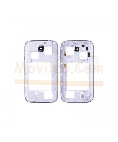 Marco Intermedio Blanco para Samsung Grand Duos i9080 i9082 - Imagen 1