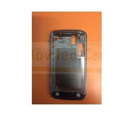 Marco Pantalla Azul Metalizado para Samsung Galaxy Core i8260 i8262