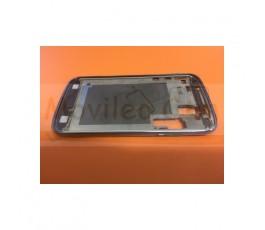 Marco Pantalla Azul Metalizado para Samsung Galaxy Core i8260 i8262 - Imagen 3