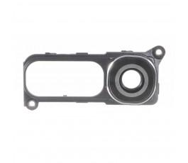 Embellecedor y cristal cámara trasera Lg G4 H815 gris oscuro