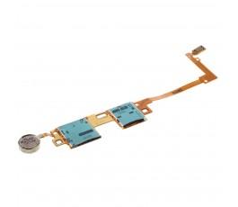 Flex Lector Tarjeta Sim y Vibrador para Samsung Note 10.1 P600 P605 - Imagen 1