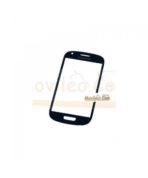 Cristal Azul Oscuro Samsung Galaxy S3 Mini i8190 - Imagen 1