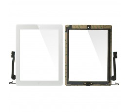 Pantalla táctil blanca para iPad-4