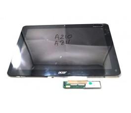 Pantalla Completa para Acer Iconia A210 A211 negra