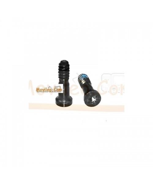 Set de 2 tornillos Negros para conector lightning de carga y accesorios para iPhone 5 - Imagen 1