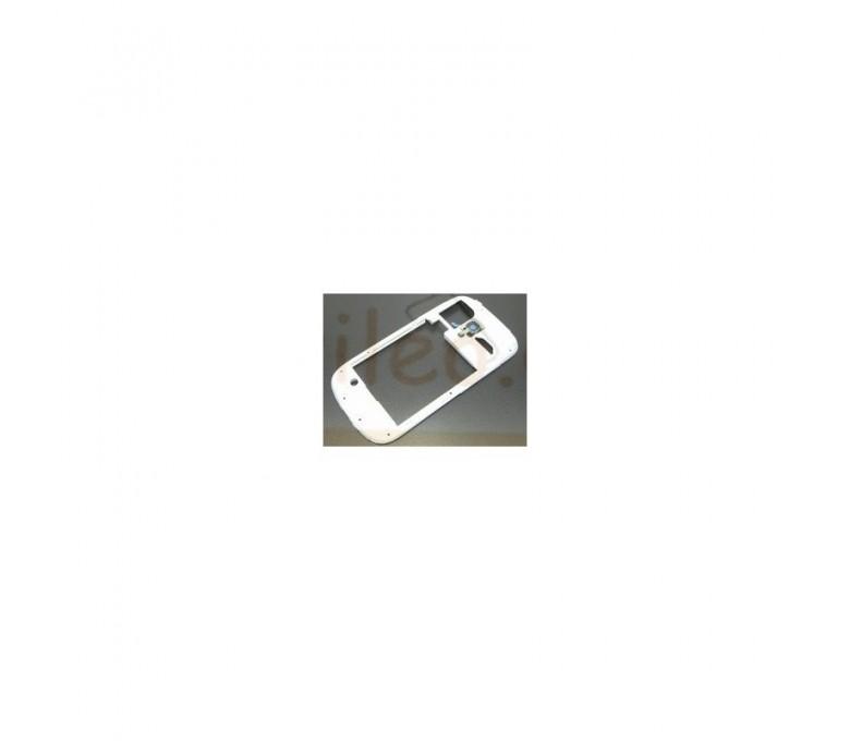 Chasis Cascasa intermedia Blanca para Samsung Galaxy S3 Mini i8190 - Imagen 1