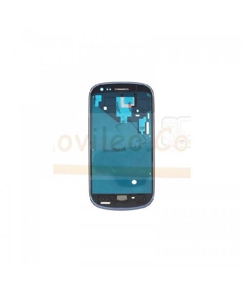 Marco Pantalla Azul para Samsung Galaxy S3 Mini i8190 - Imagen 1