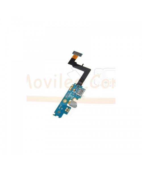 Flex Conector Carga Usb Microfono y Conector Antena Samsung Galaxy S2 i9100 - Imagen 1
