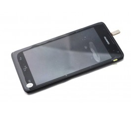 Pantalla completa tactil y lcd display para Huawei Y530 negra