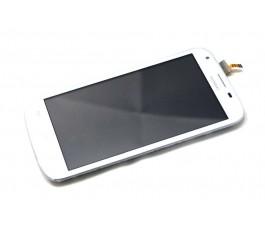 Pantalla completa tactil y lcd display para Huawei Y600 blanca