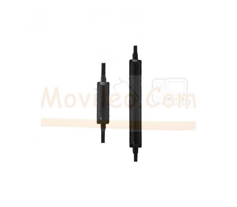 Boton Volumen y Encendido Exteriores Negros para Samsung Galaxy S2 i9100 - Imagen 1