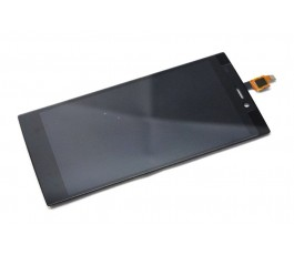 Pantalla completa tactil y lcd display para Wiko Ridge 4G negra