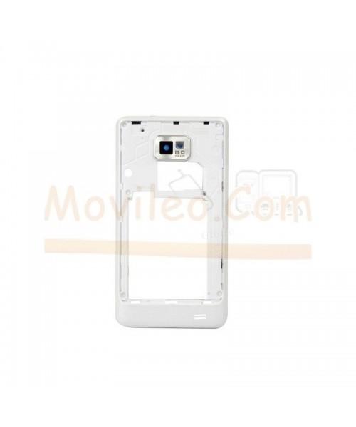 Carcasa Intermedia Blanca para Samsung S2 i9100 - Imagen 1