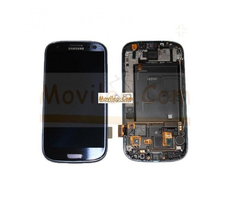 Pantalla Completa Azul Con Marco Samsung Galaxy S3 i9300 - Imagen 1
