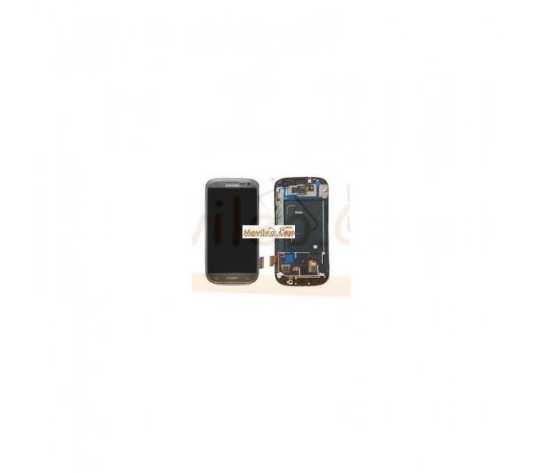 Pantalla Completa Gris Con Marco Samsung Galaxy S3 i9300 - Imagen 1