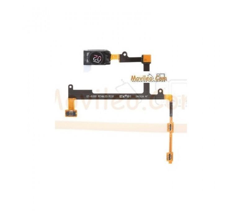Flex Botones Volumen con Sensor de luz y altavoz para Samsung S3 i9300 - Imagen 1
