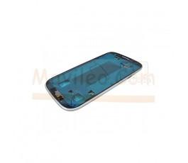 Marco Frontal Chasis Gris para Samsung Galaxy S3 i9300